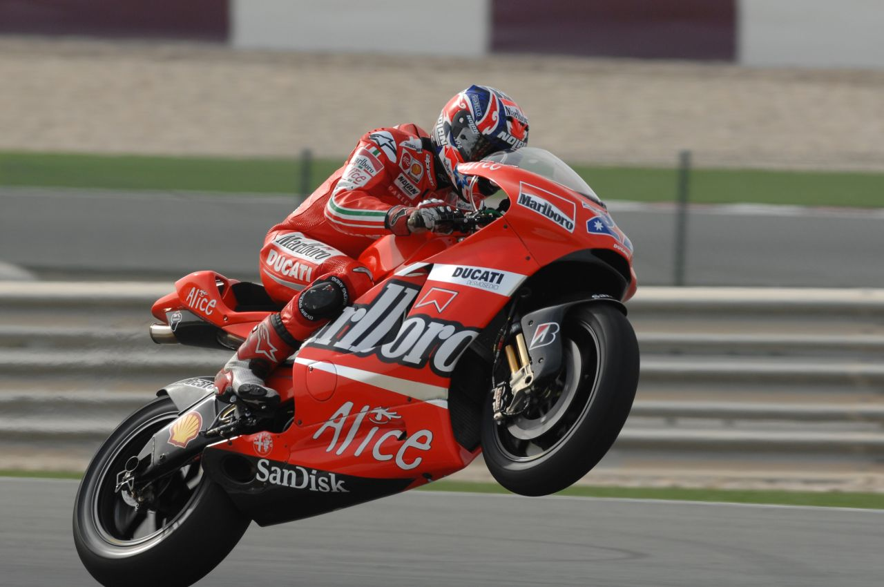 Casey Stoner On His Ducati