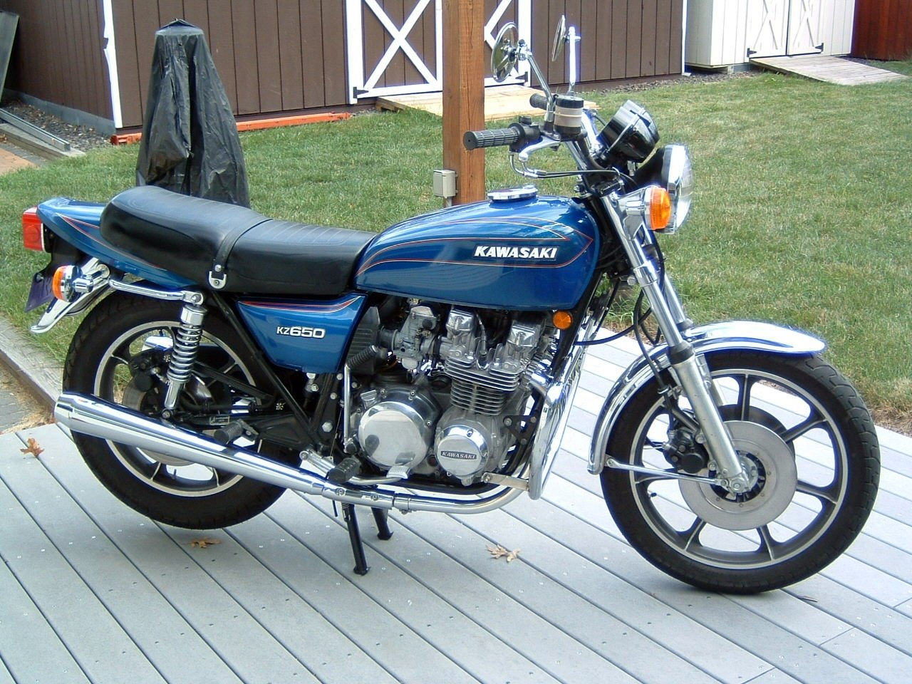 in honor of my kawasaki kz650! | motorcycle photo of the day