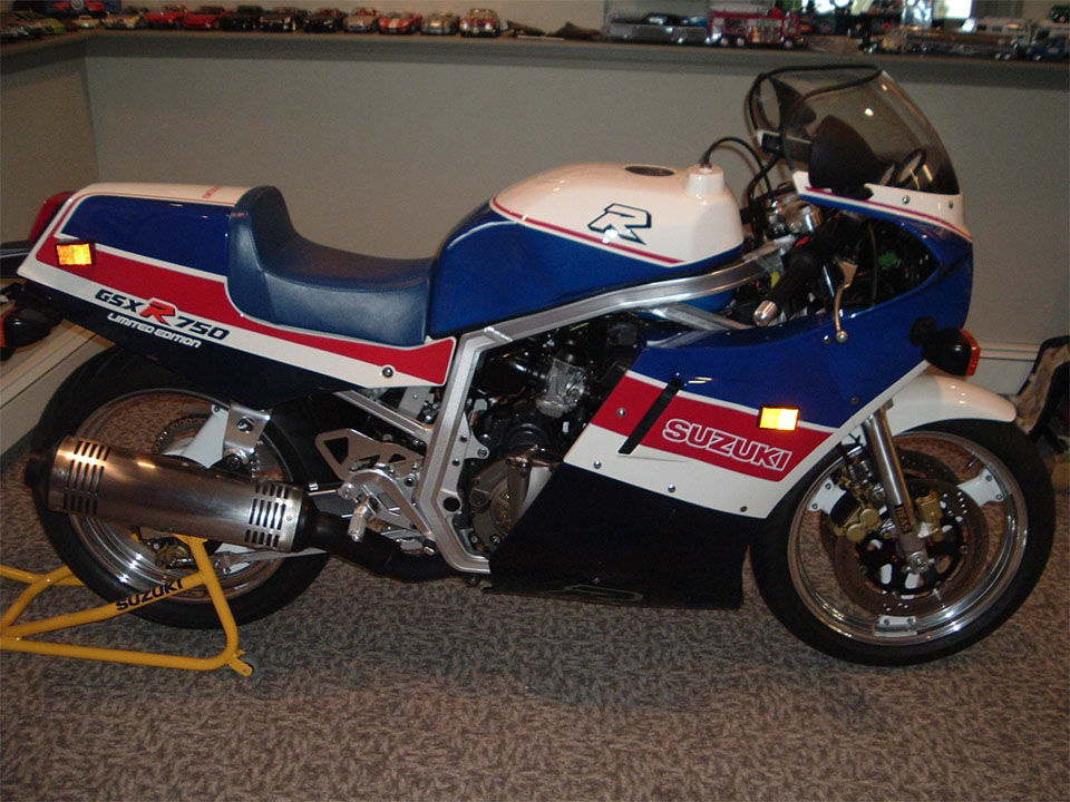1986 GSXR 750 Limited Edition with a Dry Clutch