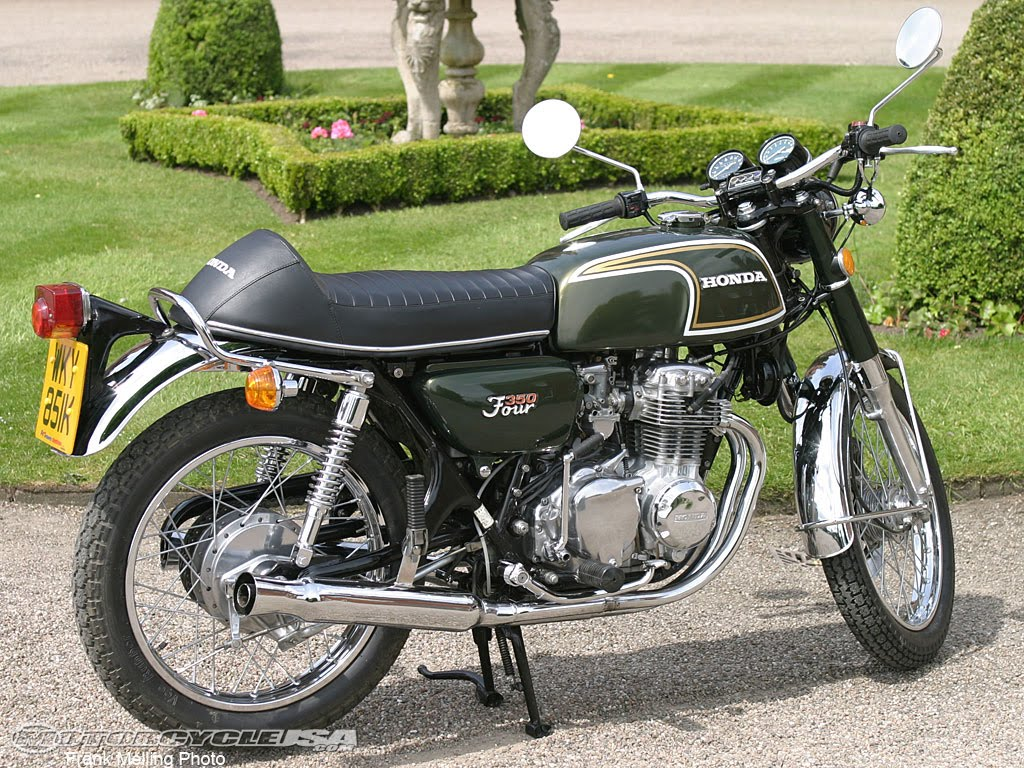 beautiful honda cb350 four motorcycle photo of the day. Black Bedroom Furniture Sets. Home Design Ideas