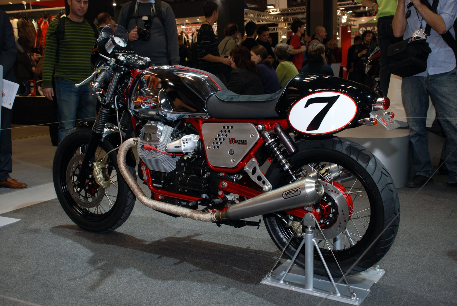 moto guzzi v7 clubman racer motorcycle photo of the day. Black Bedroom Furniture Sets. Home Design Ideas