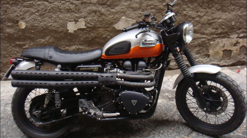 Triumph Scrambler Heckumbau Idea Di Immagine Del Motociclo
