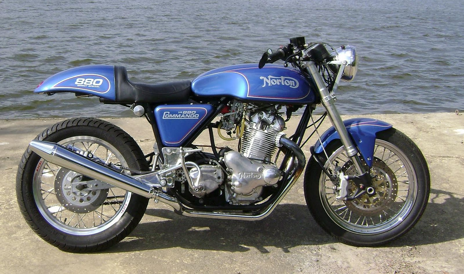 Reader Submittal Big Post On A Very Cool Custom Norton By