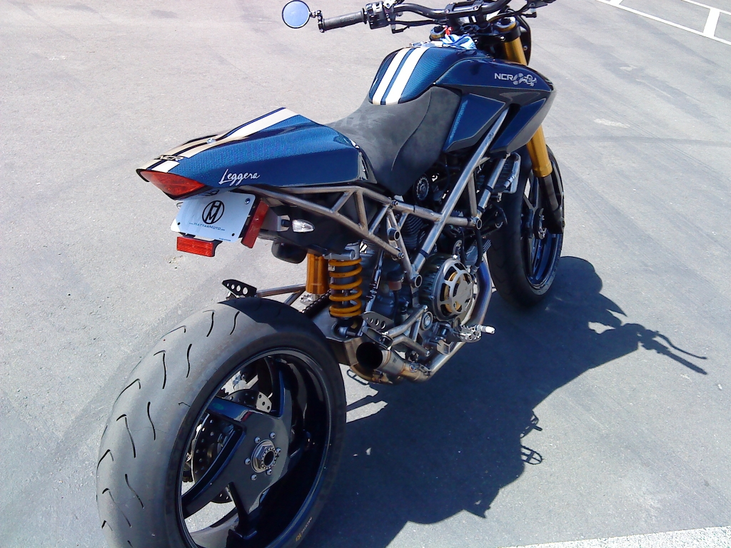 Reader Submittal Ncr Ducati Hypermotard Motorcycle Photo Of The Day
