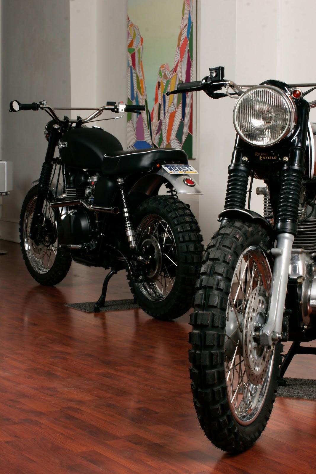 "The Triumph Scrambler ""Jack Pine Special""..   Motorcycle ..."