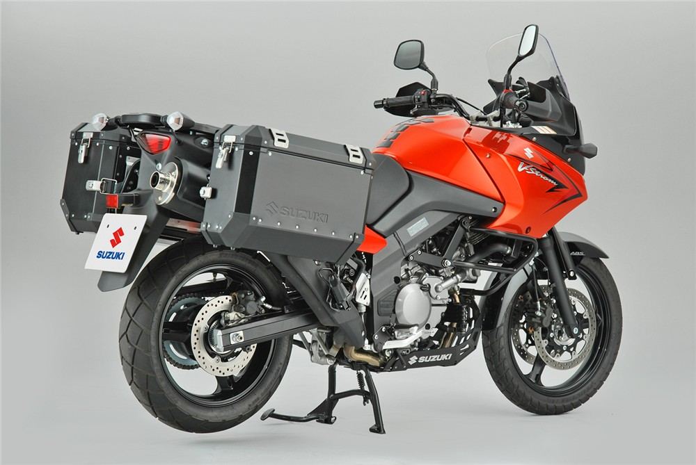 Suzuki v Strom 650 #9