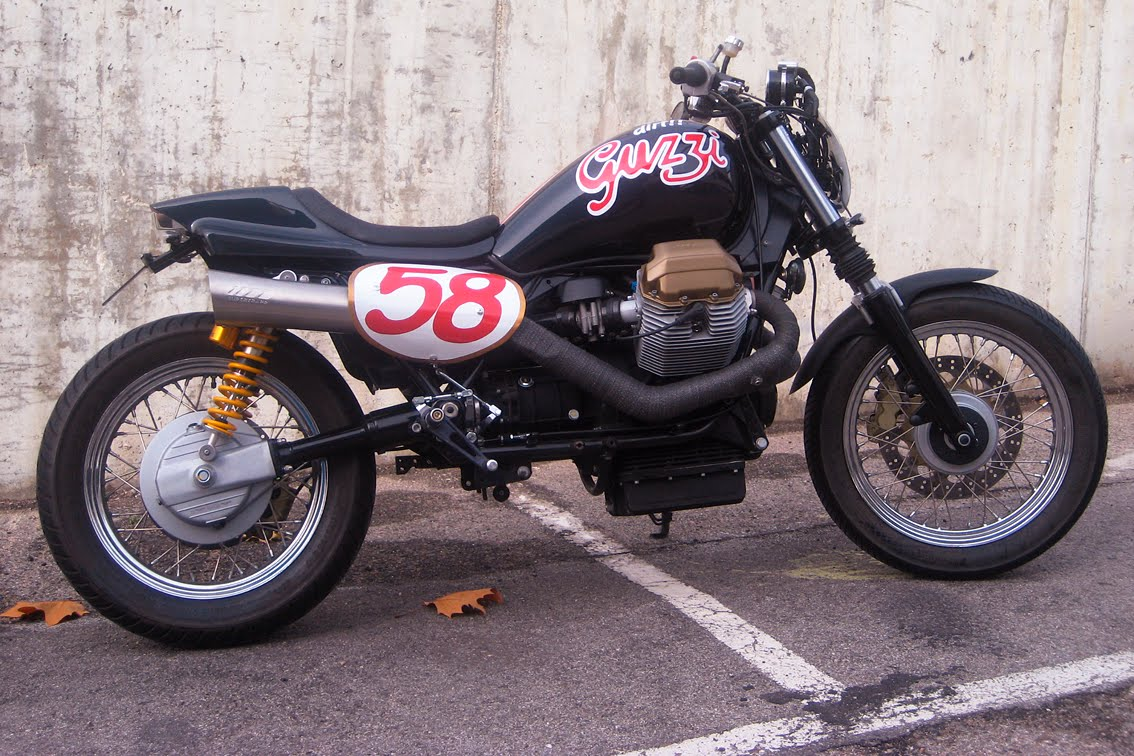 Bikes You Don T See Every Day Guzzi Tracker Motorcycle Photo