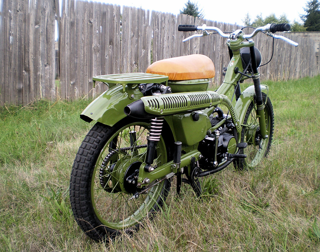 """Honda Trail 110 >> Reader Ride! A Sort Of """"Combat"""" CT90! 