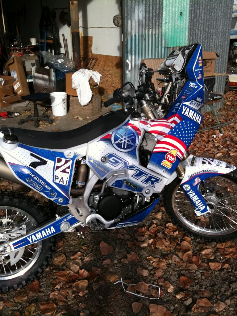 Racebike motorcycle photo of the day page 4 for Yamaha rally bike for sale