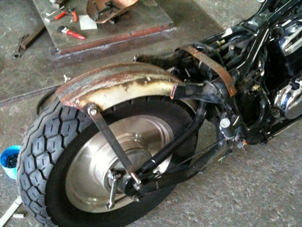 Honda VLX 400 Chopper/Bobber. A Totally Awesome Budget Build. (6/6)