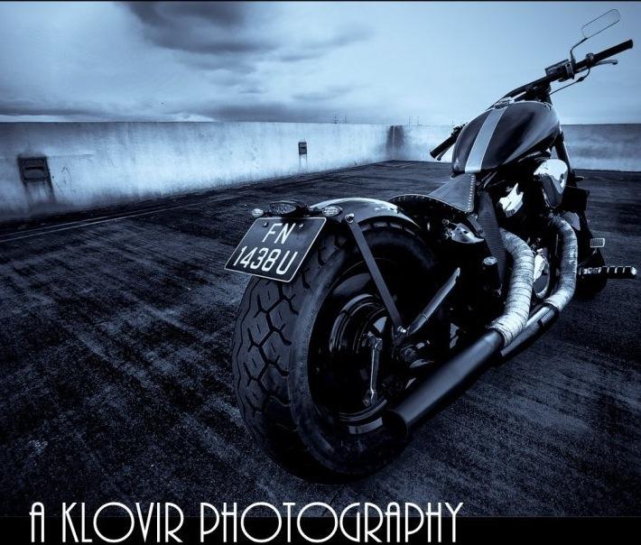 Honda VLX 400 Chopper/Bobber. A Totally Awesome Budget Build. (3/6)