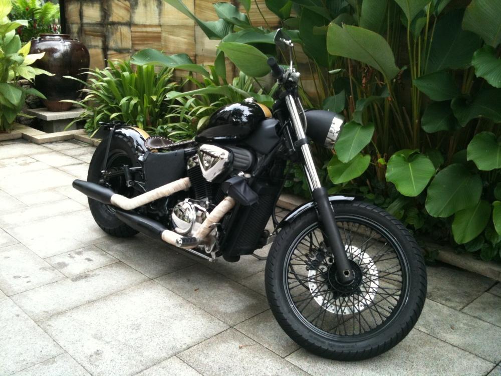 Honda VLX 400 Chopper/Bobber. A Totally Awesome Budget Build. (2/6)