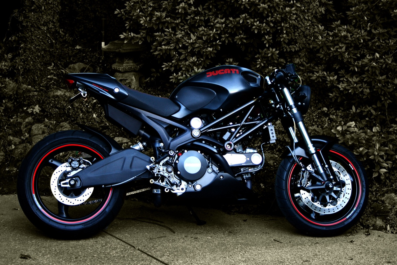 Excellent Custom Ducati Monster. | Motorcycle Photo Of The Day