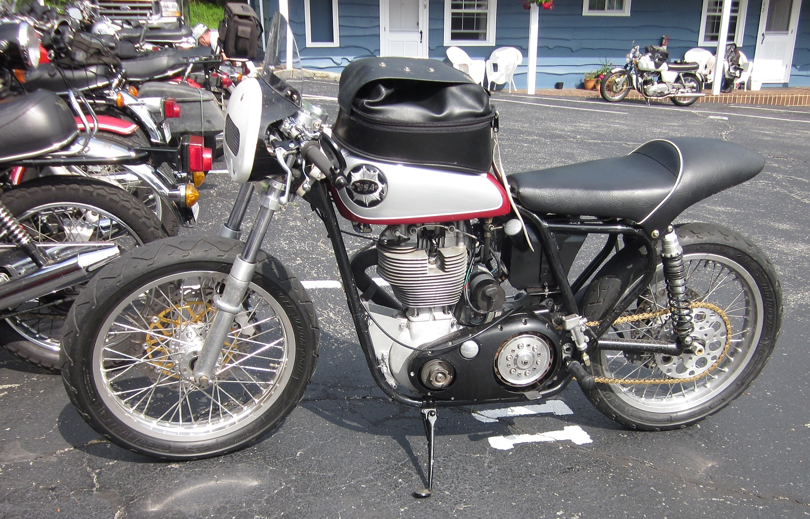 A Motard Bsa Gold Star Motorcycle Photo Of The Day