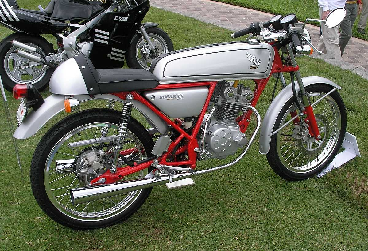 honda dream 50 motorcycle photo of the day