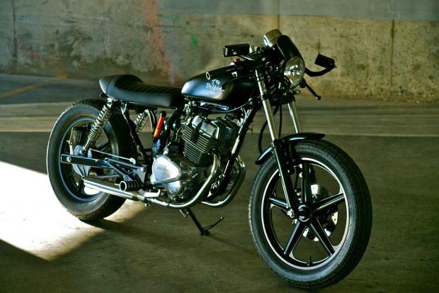 Sweet Little 2001 Honda CB250 Cafe Racer