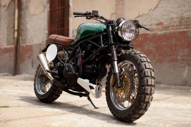 Modern Ducati Scrambler