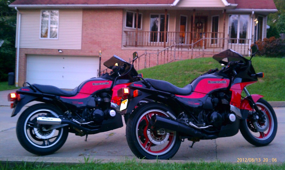 1984 and 1985 GPZ 750 turbos (1/2)