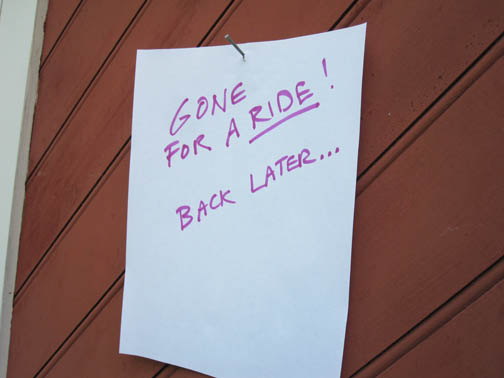Gone-Riding
