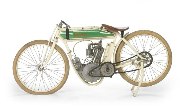 The ex-Steve McQueen1914 Indian Model F Board-Track Racing Motorcycle