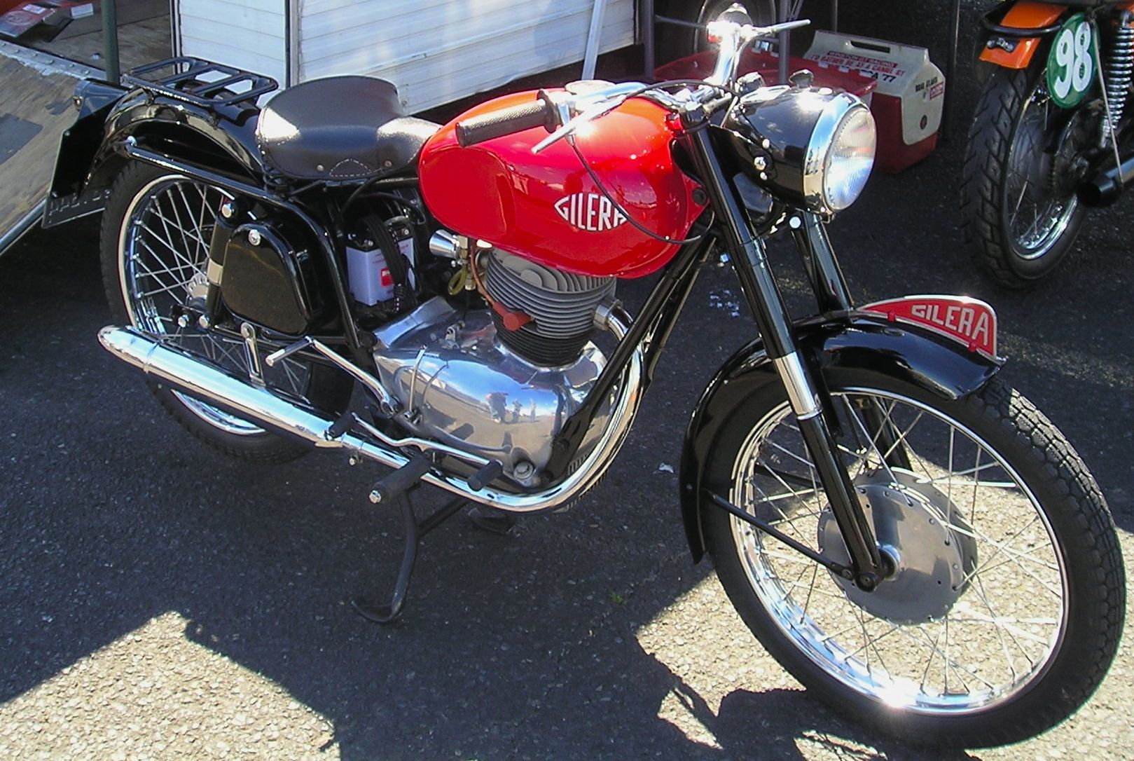 gilera 150 sport | motorcycle photo of the day