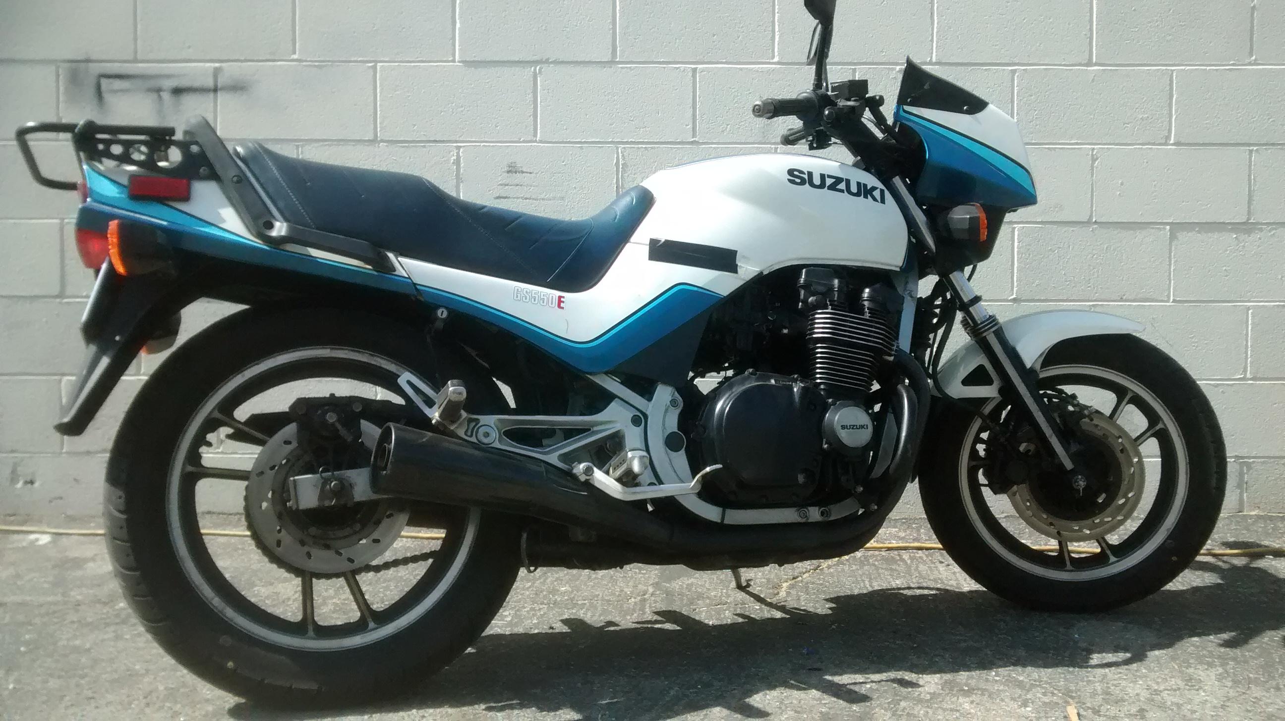 1983 suzuki gs550e