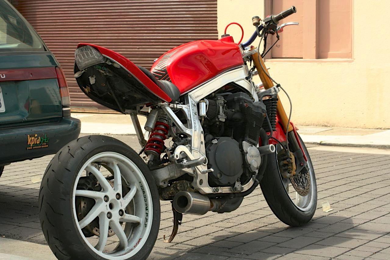 Suzuki Bandit 1200 Vfr Single Sided Swingarm Motorcycle Photo