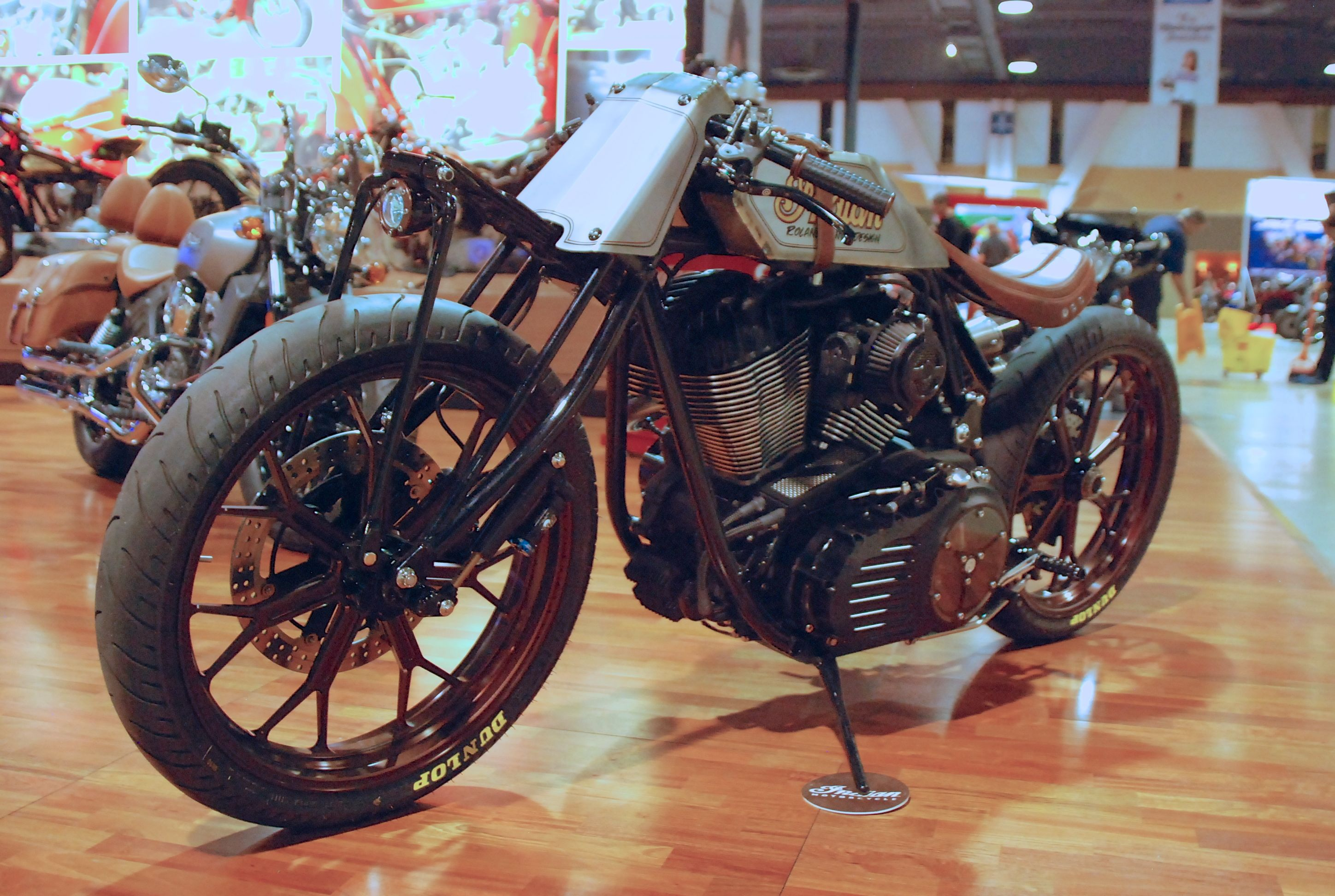 Progressive Motorcycle Show >> Roland Sands Design Indian Track Chief | Motorcycle Photo Of The Day