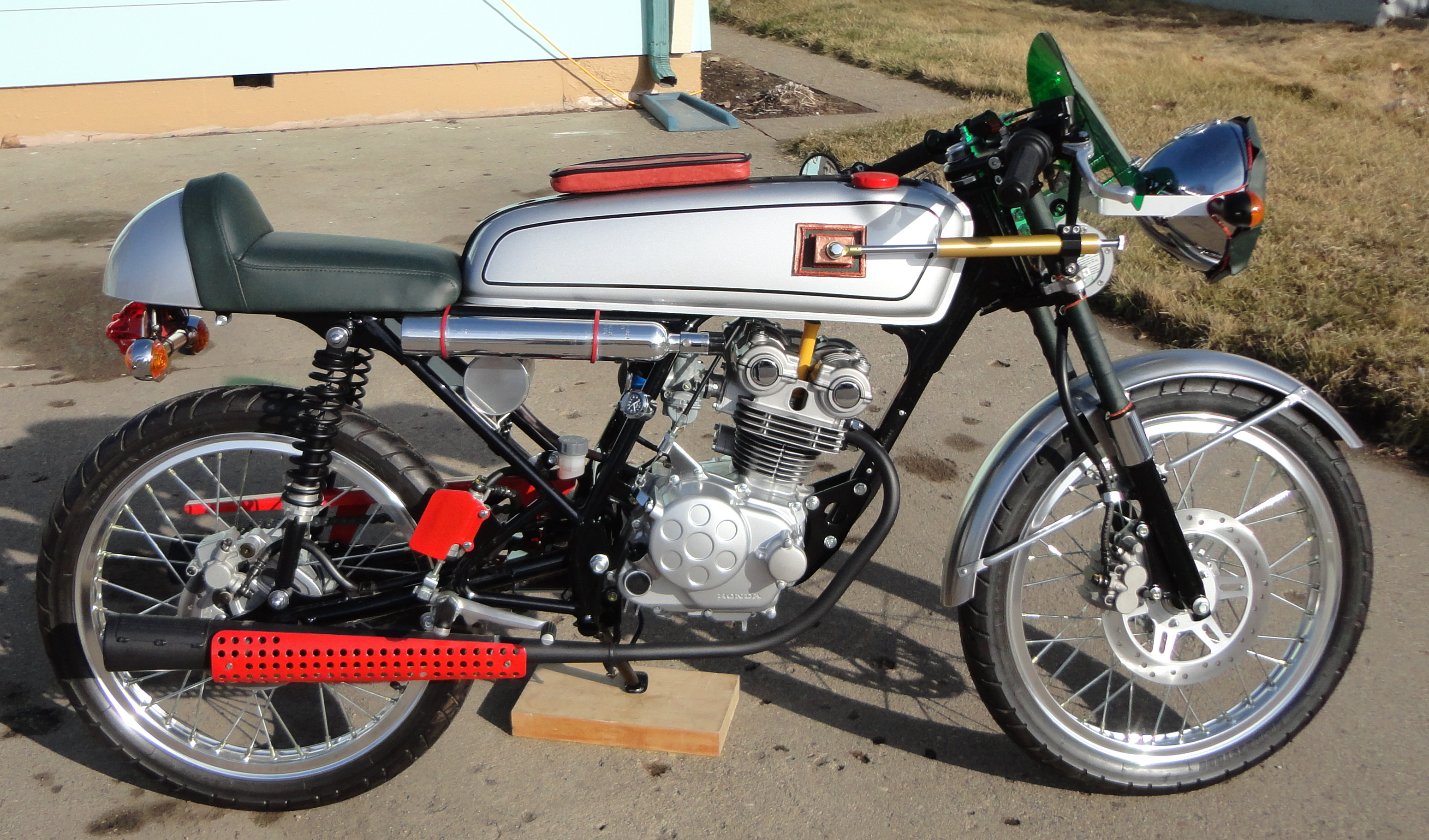 A Dream 50 R As A Cafe Racer From The Heartland Motorcycle Photo Of The Day