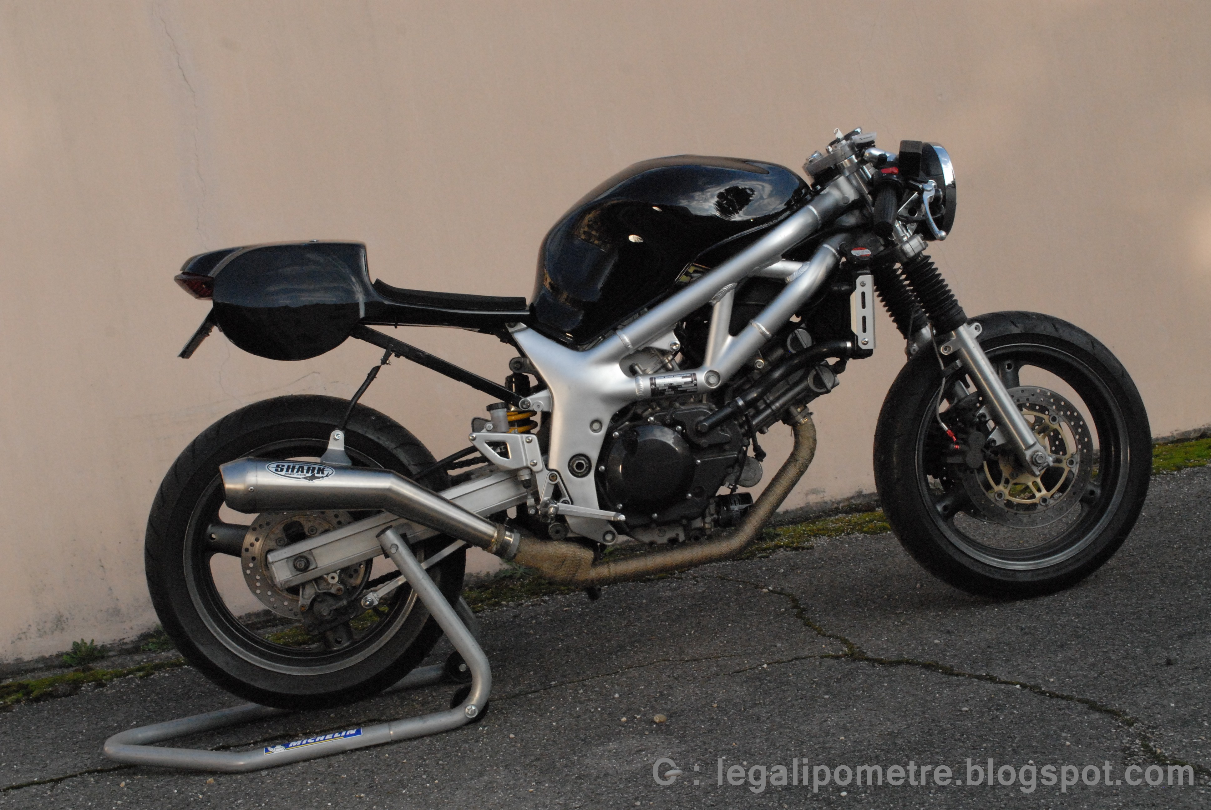 a kickass frist genertion sv650 cafe motorcycle photo of the day